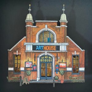 ArtHouse Cinema - Illustration by Jonathan Chapman