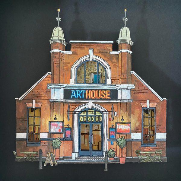 ArtHouse Cinema - Illustration by Jonathan Chapman