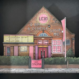 the Lexi Cinema - Illustration by Jonathan Chapman