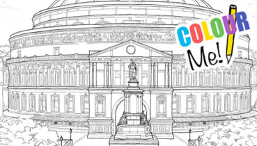 Royal Albert Hall Colouring Pages