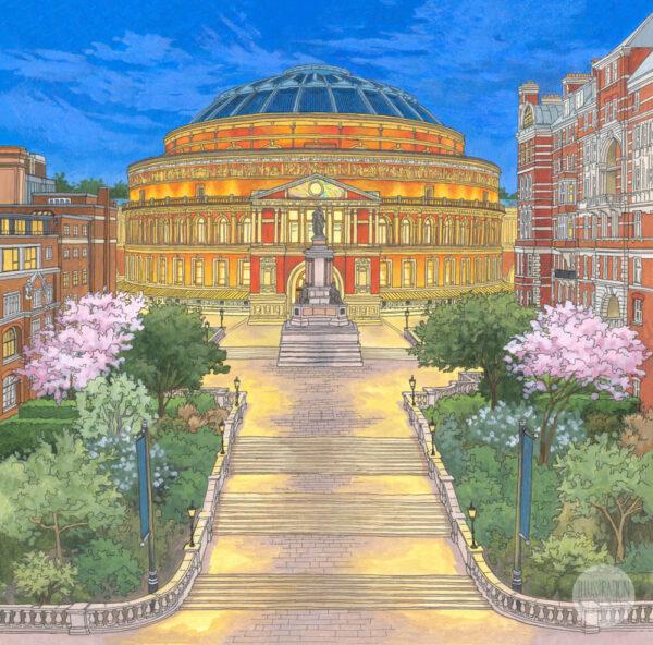 Royal Albert Hall Limited Edition Print