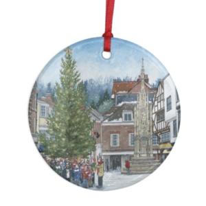 Christmas Carols tree ornament