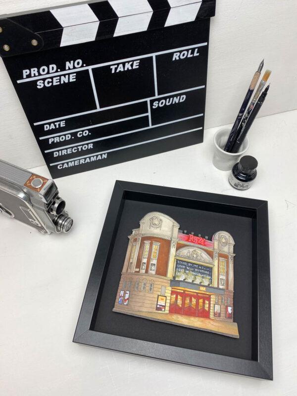 The Ritzy Cinema - Illustration by Jonathan Chapman