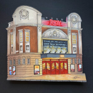 The Ritzy Cinema - Illustration by Jonathan Chapman