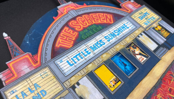 Screen on the Green - Illustration by Jonathan Chapman