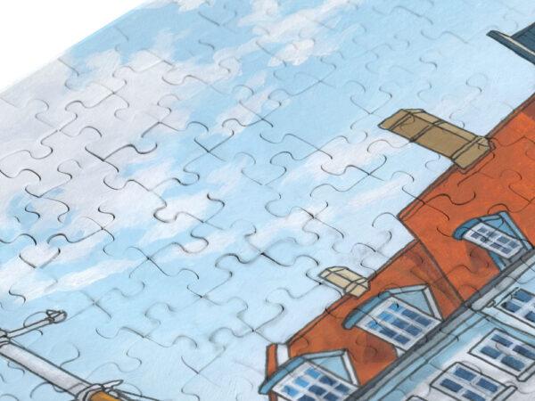 Copenhagen Jigsaw Puzzle - Illustration by Jonathan Chapman