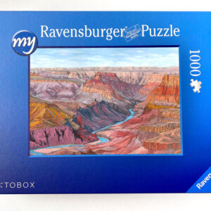 Grand Canyon Jigsaw Puzzle - Illustration by Jonathan Chapman