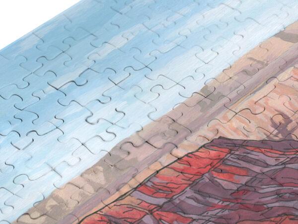 Liberty Jigsaw Puzzle - Illustration by Jonathan Chapman