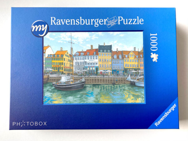Copenhagen Jigsaw Puzzle - Illustration by Jonathan Chapman