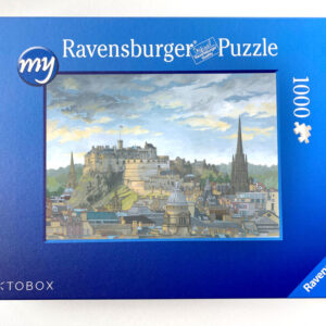 Edinburgh Castle Jigsaw Puzzle - Illustration by Jonathan Chapman
