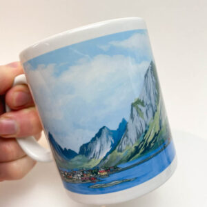 Lofoten Islands Norway Coffee Mug