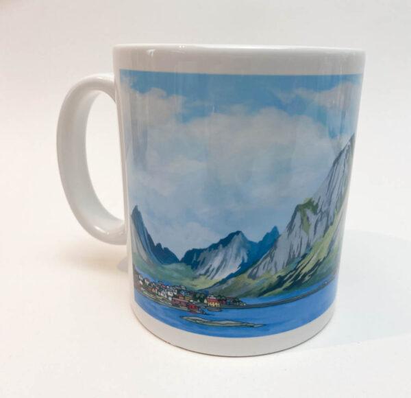 Lofoten Islands Norway Coffee Mug