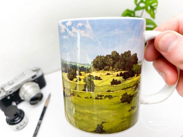 St Catherines Hill Coffee Mug Design