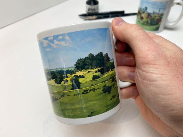 St Catherines Hill Winchester Coffee Mug