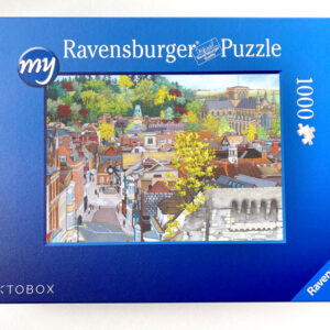 View From St Giles Hill Jigsaw Puzzle - Illustration by Jonathan Chapman