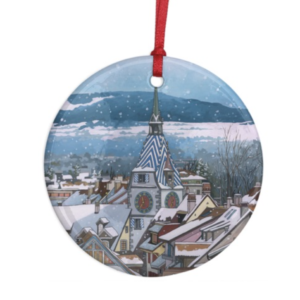 Zytturm Snowfall Decoration