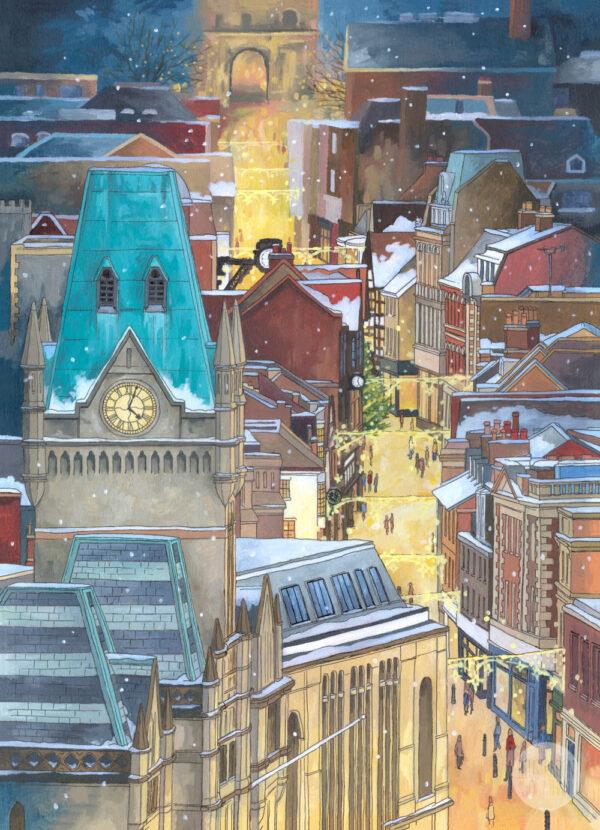 Night Before Christmas - Illustration by Jonathan Chapman