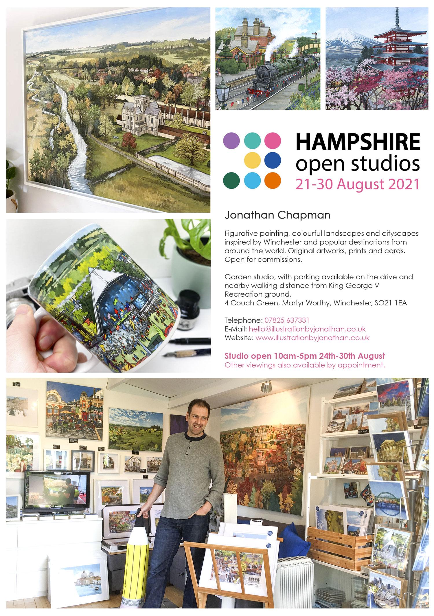Hampshire Open Studio 2021 - Jonathan Chapman
