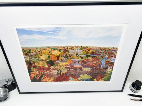 City of Winchester Art Print
