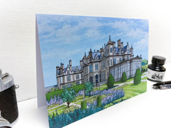 Stoke Rochford Hall Greeting Card