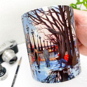 A Theatrical Walk Coffee Mug Design