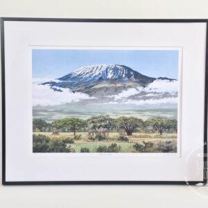 Mount Kilimanjaro Limited Edition Print