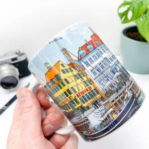 Nyhavn Copenhagen Coffee Mug Design