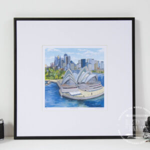 Sydney Opera House Limited Edition Print - Illustration by jonathan