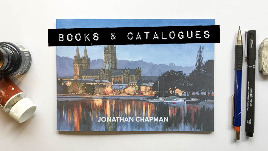Books & Catalogues - Illustration by Jonathan Chapman