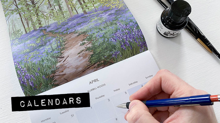 Calendars - Illustration by Jonathan Chapman