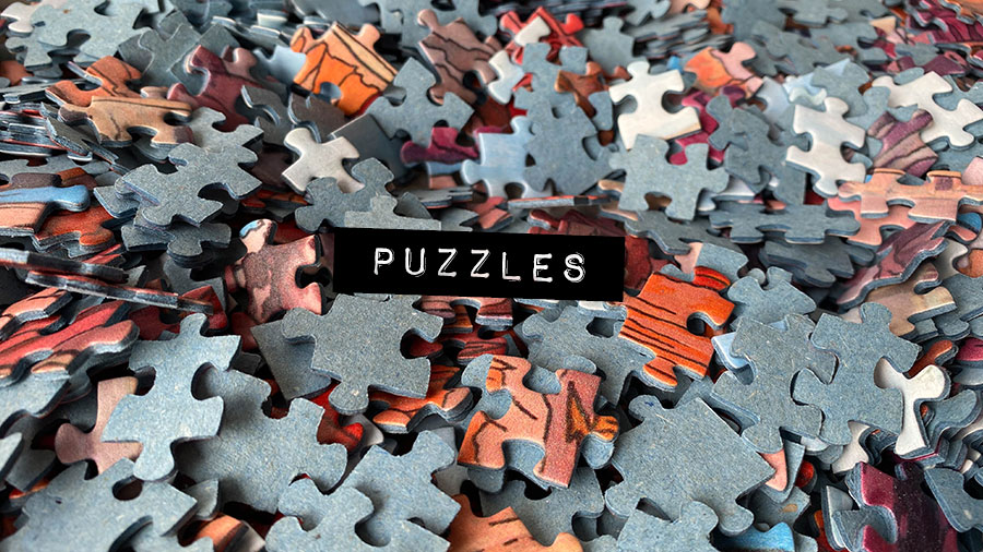 Puzzles - Illustration by Jonathan Chapman
