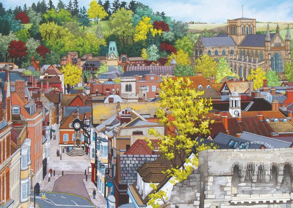 Winchester From the Westgate Postcard Design (WFTWP201) - Preview
