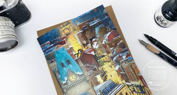 Night Before Christmas Winchester Greeting Card
