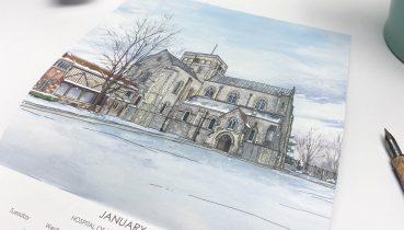 Winchester and St Cross Calendar 2022