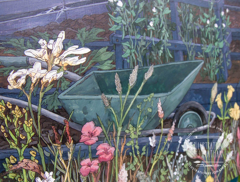 Allotment Sunset Commission Detail - Illustration by Jonathan Chapman
