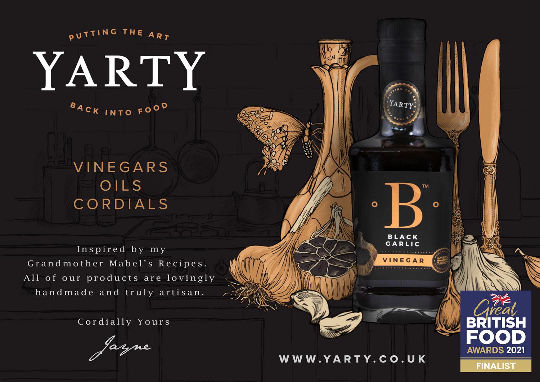 Great British Food Awards - Black Garlic Vinegar Ad